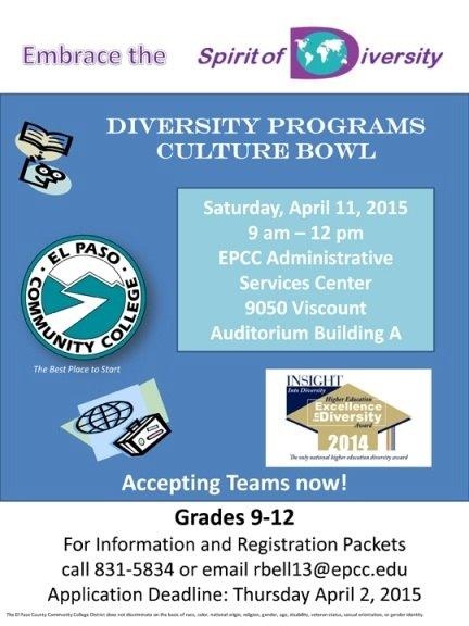 2nd Annual EPCC Culture Bowl