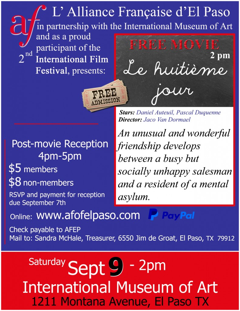 flyer International Film Festival 2017