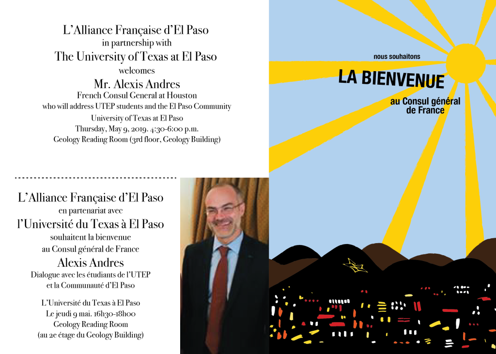 Visit from Consul General of France at Houston