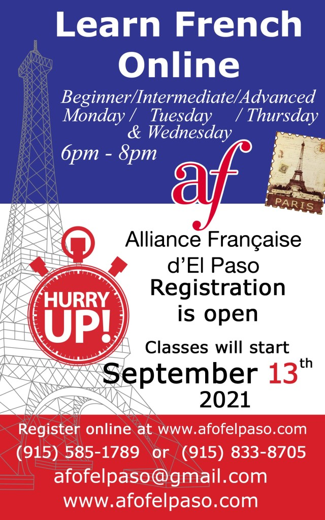 New session FALL 1 - 2021